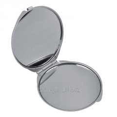 Double folding pocket mirror of