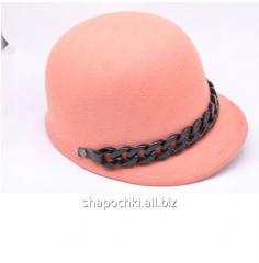 Hat felt 1-79, color cream