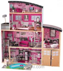 Кукольный домик Barbie Sparkle Mansion KidKraft