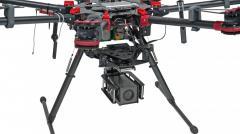 Трехосевой подвес с камерой для дрона