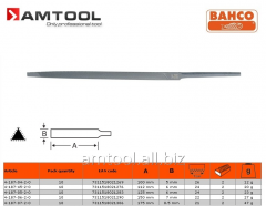 File tool-grinding trihedral, pointed, superthin,