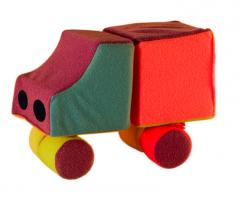 The designer is the children's, soft car.