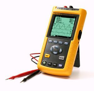 The analyzer of quality of the electric power