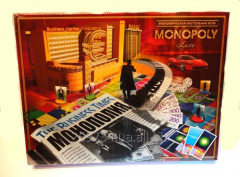 Board game Monopoly of Luxe!