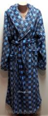 Женский теплый халат