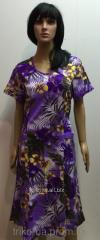 Трикотажное женское платье 58