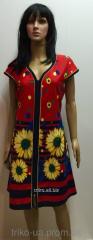 Женский домашний халат на молнии Мария 56