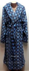 Женский теплый халат 46
