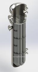 The heat exchanger kozhukhotrubny with U-shaped