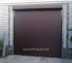 Rolleta on doors, protective rolleta