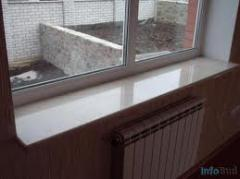 Window sills from Korostyshevsky granite
