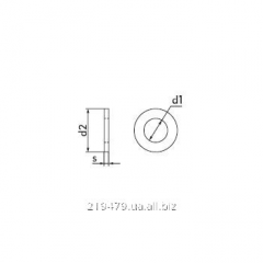 Washer flat GOST 11371-78 standard size of M 10