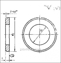 Washer for the state standard specifications