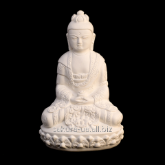 Figure for List / Plaster / Buddha Big / White