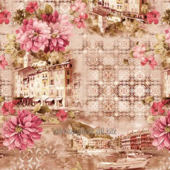 Cloth oilcloth on kitchen the City of happiness,