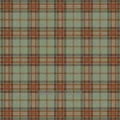 Oilcloth cloth in the Scottish style 108-D