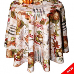 Oilcloth dining room Autumn vegetables! Novelty!