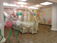 Воздушные шарики, оформление шариками от Globos design