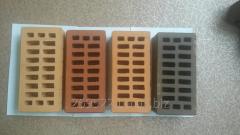 Facing ceramic brick