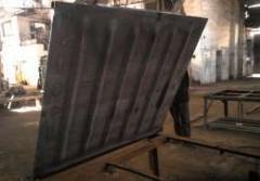 Gondola car hatch cover