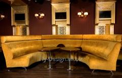 Sofa radial LUCIANO