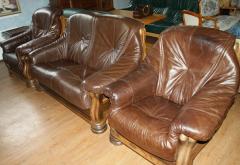 Кожаная мебель новая и б/у с Европы