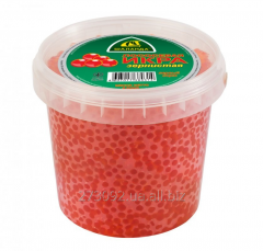 Caviar of a humpback salmon Barge of 1000 of