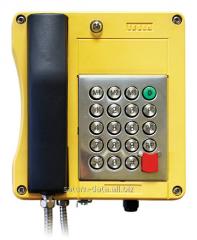 Mine telephone set of a series 4FP 153 47
