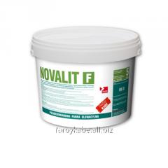 Полисиликатная фасадная краска NOVALIT F