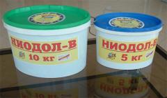 Смазка пластичная НИОДОЛ-В. Вещества химические