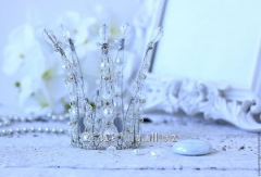 Silver crown for the princess