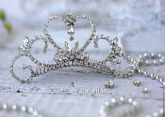 Хрустальная корона для принцессы, тиара
