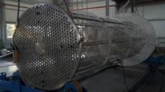Heatexchange device, lamellar