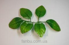 Artificial leaves of a rose No. 1, on 1 socket of