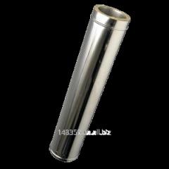 Труба диаметр 130/200мм. нерж./оцинковка  - 1м.