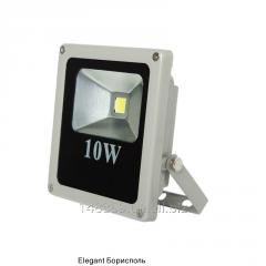 Прожектор диодный ІР65 10Вт SLIM