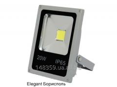 Прожектор диодный ІР65 20Вт SLIM