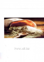 Soy-bean flour the fat-free fodder