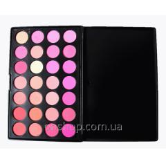 Blush of 28 shades set for make-up