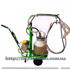 The milking machine for goats of Protein-1