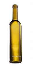 Пляшка скляна  коричнева на  700 мл Elit Bordeaux