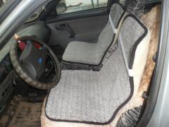 Automobile cape, wool, gray 36