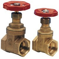 LATCHES BRASS MUFTOVY DU OF 15 - 100 MM