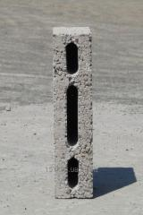 Керамзитоблок простеночный пустотелый М-35