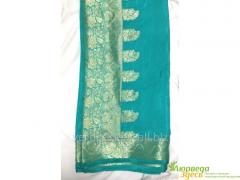 Calmness sari turquoise