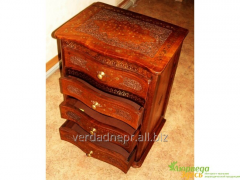 Bedside table the Dresser carved with
