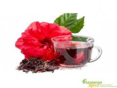 Чай каркаде, сушёный гибискус, 100 грм.