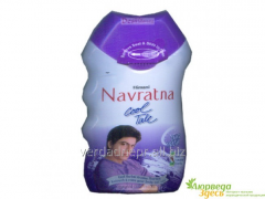 The talc for Navratn's body cooling