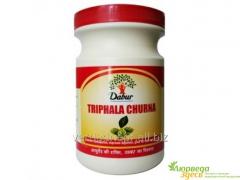 Preparation for clarification of triphala churna