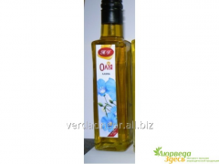 Preparation for a liver Linseed oil